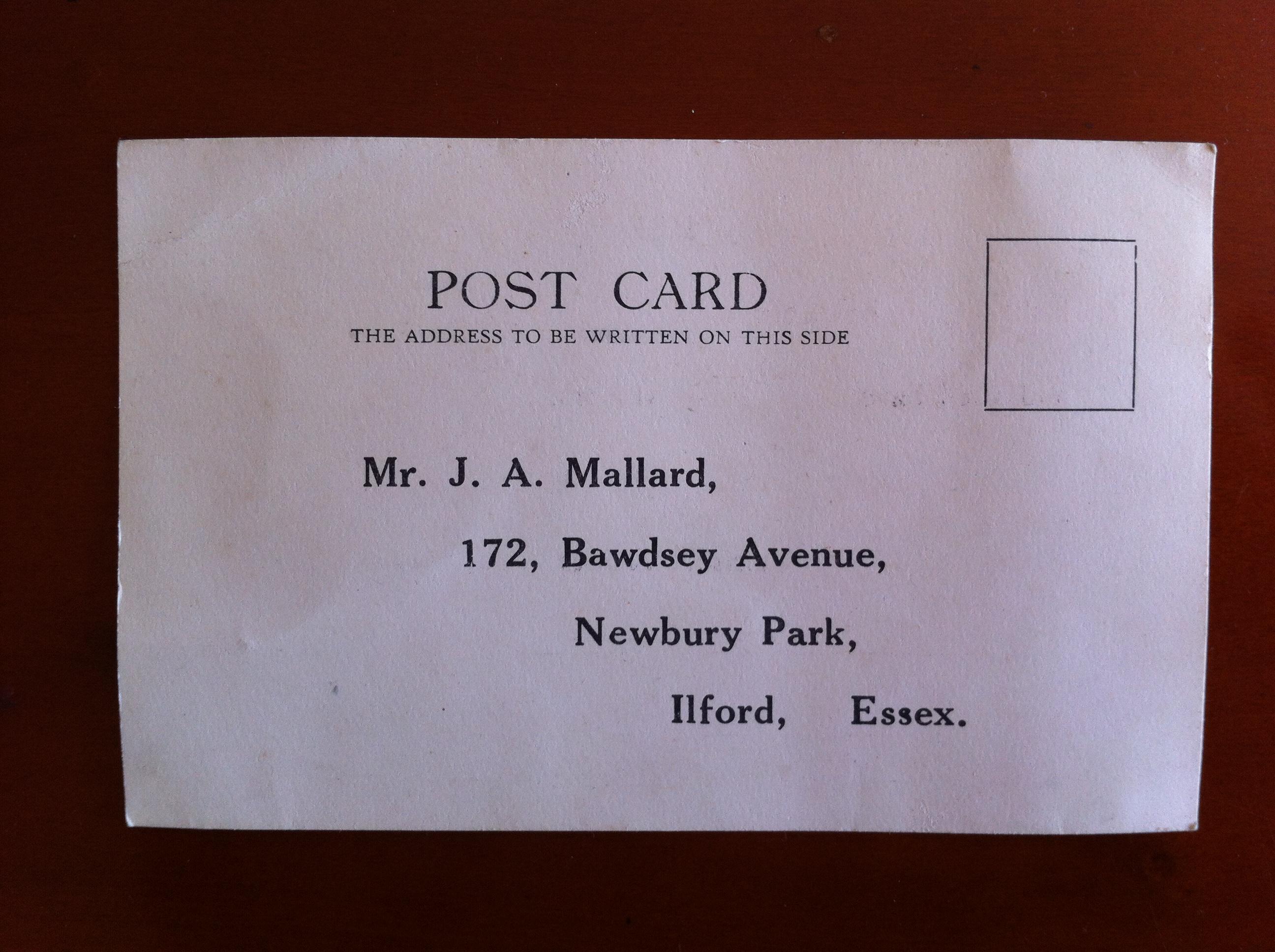 Was J A Mullard Secretary?